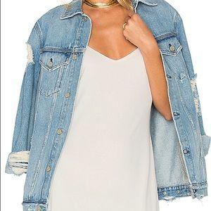 GRLFRND Daria oversized denim jacket